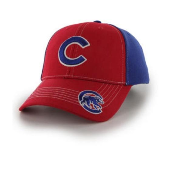 6f2f6e05faf91 Chicago Cubs 47 Brand Fan Favorite Strapback Hat. Boutique. MLB
